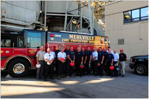 Mehlville Fire Protection District logo
